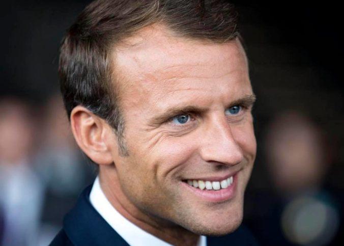 Portrait d'Emmanuel Macron en 2018
