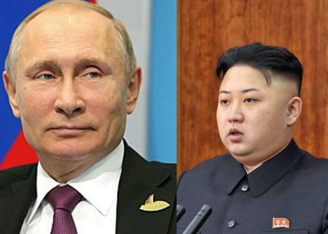 Photo montage avec Vladimir Poutine et Kim Jong Un