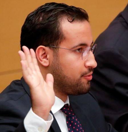 Alexandre Benalla, lors de son audition en janvier 2019