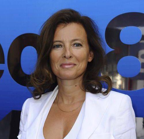 Portrait de Valérie Trierweiler