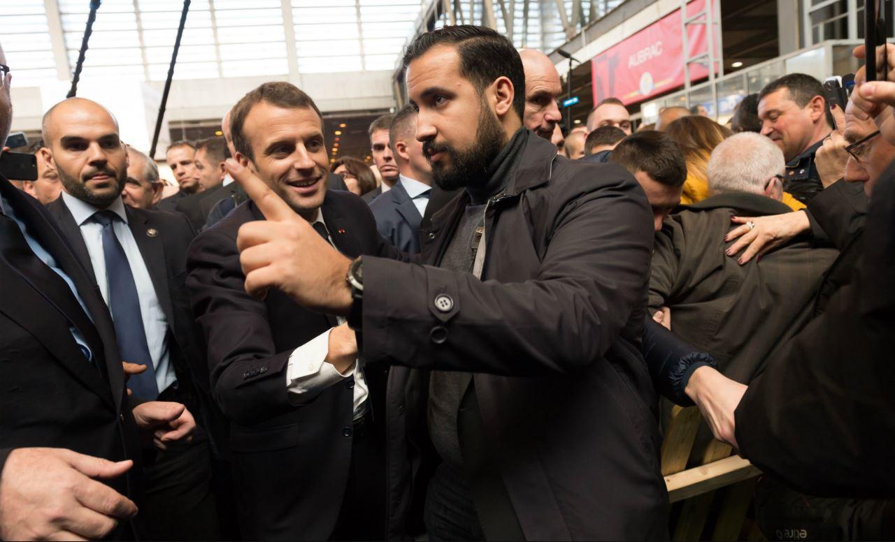 Violence dans l'entourage du président Macron ?