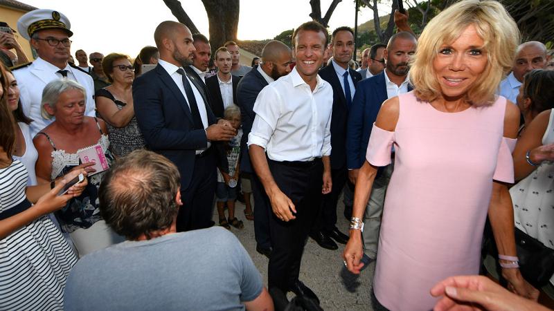 Emmanuel Macron fait lui aussi sa rentrée