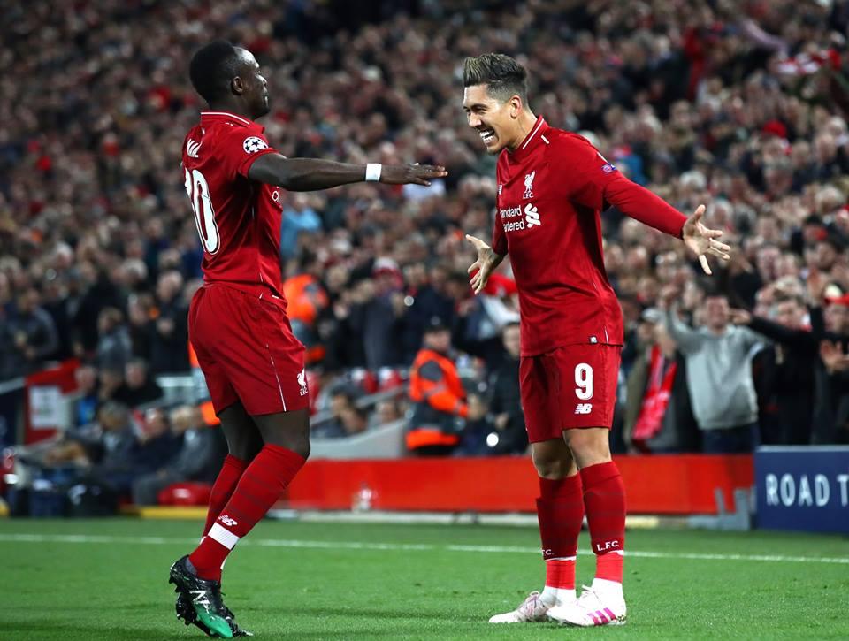 Ligue des Champions: Liverpool en ballottage favorable après avoir battu Porto 2-0