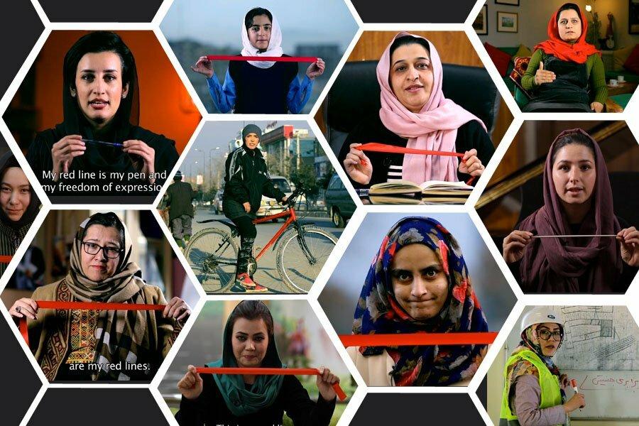 Afghanistan: «MyRedLine», un des nombreux hashtags pour la défense des droits des femmes