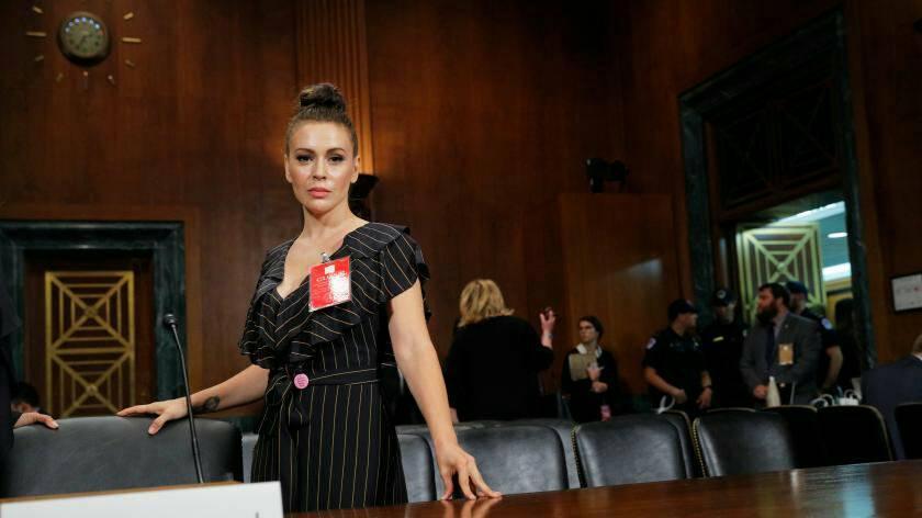 #SexStrike: Alyssa Milano appelle à une grève du sexe pour dénoncer une loi restrictive sur l'avortement en Géorgie