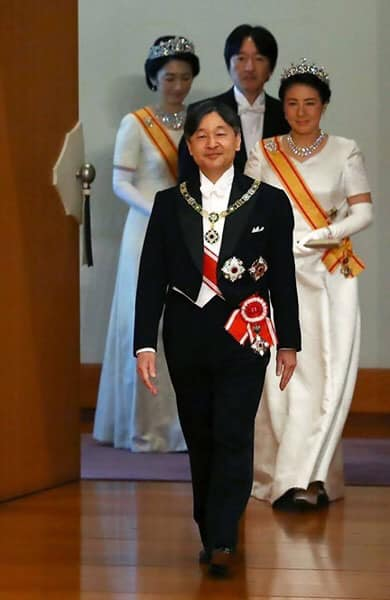 Japon: Le nouvel empereur Naruhito est officiellement monté sur le trône ce mercredi