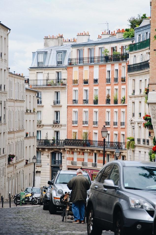 Une ruelle de Paris