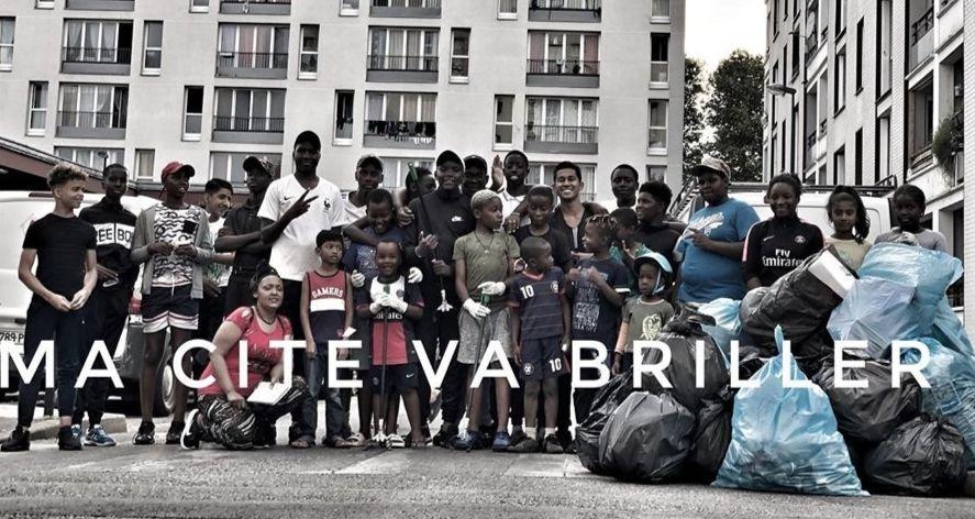 #MaCitéVaBriller: les jeunes se lancent le défi du quartier le plus propre