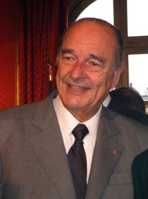Jacques Chirac, Président de la République française de mai 1995 à mai 2007