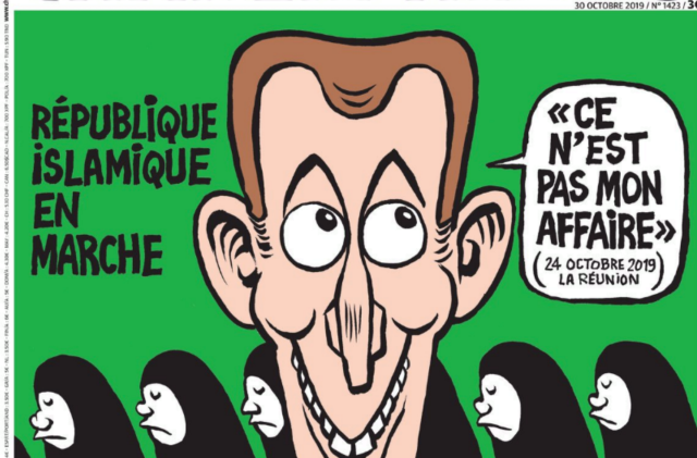 « République islamique en Marche » : la Une de Charlie Hebdo s'attire les foudres de la twittosphère