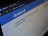 Page d'inscription de Facebook.