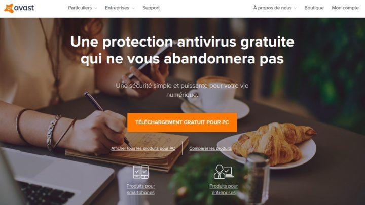 Avast utilise vos informations personnelles sans votre accord !