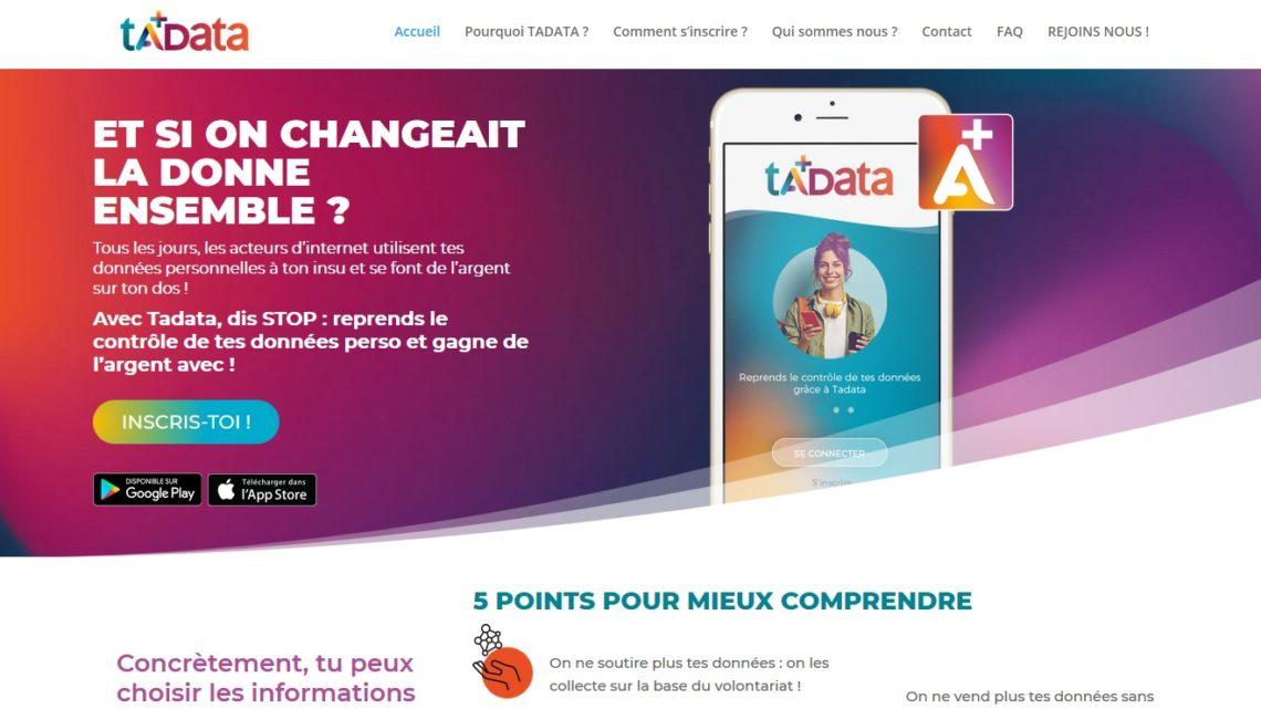 Tadata : une appli controversée pour sa vente d'informations