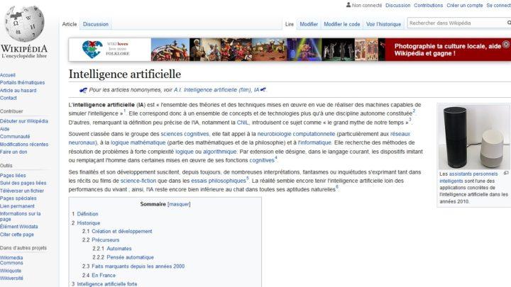 Wikipédia : une IA permet de corriger les articles