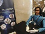 robot semi-humanoïde indien espace