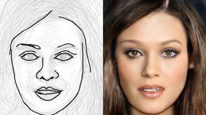 DeepFaceDrawing: une IA qui transforme de simples croquis en portraits photos détaillés