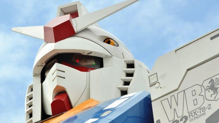Humanoïde au Japon : le robot géant Gundam fait ses débuts