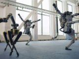 Boston Dynamic robot danse