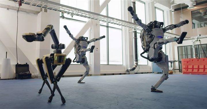 Ces robots conçus par Boston Dynamics dansent mieux que vous !